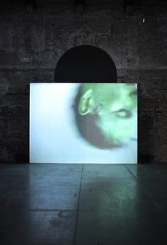 Bruce Nauman - Raw Material with Continuous Shift MMMM Exhibition Display, Exhibition Space, Video Installation, Cg Art, Dark Photography, Medium Art, Pattern Art, Contemporary Artists, Art Boards
