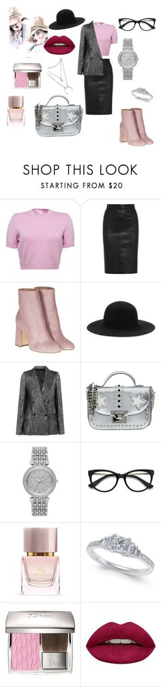 """""""Untitled #440"""" by gloriatovizi on Polyvore featuring Givenchy, Laurence Dacade, rag & bone, Isabel Marant, La Carrie, Michael Kors, EyeBuyDirect.com, Burberry and Huda Beauty"""
