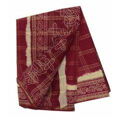 Indian Maroon Sari Women Wear New Traditional Dress Ethnic Pure Cotton Sari Traditional Dresses, Alexander Mcqueen Scarf, Ethnic, Women's Clothing, Women Wear, Sari, Indian, Trends, Clothes For Women