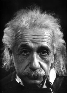 Philippe Halsman: Albert Einstein at home in Princeton, New Jersey, 1947