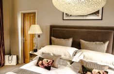 Pendant lights are perfect for creating ambient light and are most often used for stairs, living rooms, dining rooms and entryways. Ceiling Shades, Ambient Light, Accent Lighting, Pendant Lights, Be Perfect, Dining Rooms, Stairs, Pearl, Bed