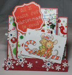 Tinas kreative Seite: All I Want For Christmas