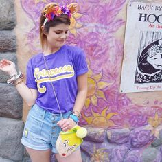 Tangled Rapunzel Disney World - @abbycorkins on Instagram