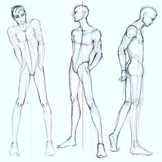 Male thinking pose ref