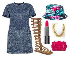 """""""Untitled #242"""" by kenziesg ❤ liked on Polyvore featuring Boohoo, Reason and Chanel"""