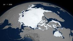 Arctic Sea Ice - July 1, 2009