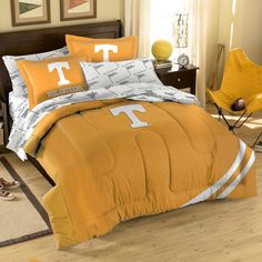 NCAA Tennessee Bed in a Bag Set