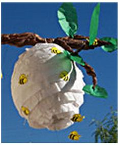 Cutest pinata idea - definitely will need to make this for our next party. (Sorry for the terrible res!)