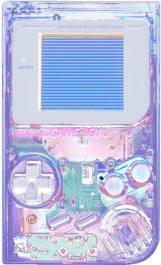 translucent gameboy