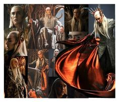"""Thranduil the Elvenking"" by artisticjester ❤ liked on Polyvore featuring Kunst"