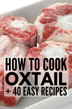 Looking for some soul food to indulge in? Grab your instant pot, crockpot, or slow cooker and give some of these delicious oxtail recipes a try! Beef Oxtail, Jamaican Oxtail, Oxtail Soup, Jamaican Dishes, Jamaican Recipes, Oxtail Slow Cooker, Oxtail Recipes Crockpot, Meat Recipes, Cooking Recipes