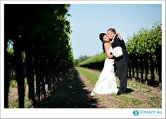 My dream wedding will be at a Vineyard.