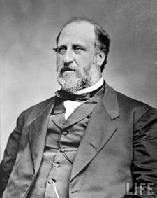 """William Tweed (1823 –1878) , known as """"Boss"""" Tweed, he was an American politician and the """"boss"""" of Tammany Hall, the political machine of 19th century New York City and State. Tweed was the third-largest landowner in New York City, a director of the Erie Railroad, the Tenth National Bank, and the New-York Printing Company, and owner of the Metropolitan Hotel.  Tweed was convicted for stealing $45 million from New York City taxpayers through political corruption. He died in jail."""