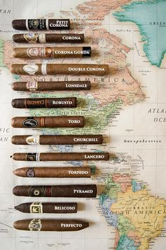 The HSS Guide To Cigar Sizes & Shapes
