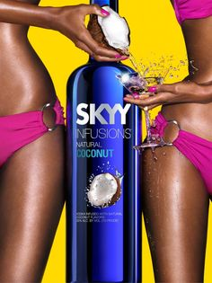 SKYY Vodka Coconut