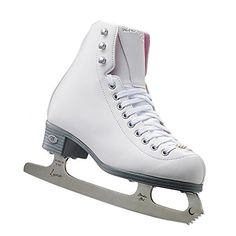 Riedell 114 Pearl Womens Figure Ice Skates - 5.0/White -- Details can be found by clicking on the image.