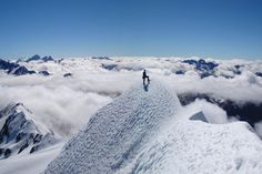 Climb to the summit of Mount Cook