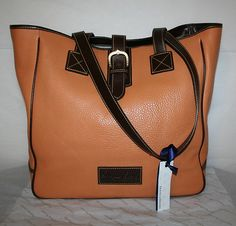 Large leather Dooney tote !  Love it !