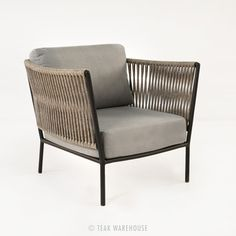 Rope Outdoor Relaxing Chair | Outdoor Furniture Sets | Teak Furniture
