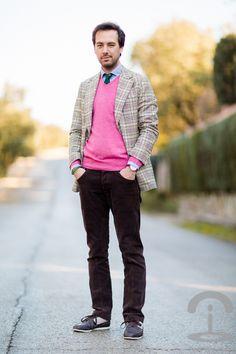 Menswear Crimenes de la ModaBlazer: Scalpers Jersey/Jumper: Hackett Camisa/Shirt: Scalpers Pantalones/Trousers: Scalpers Corbata/Tie: Scalpers Zapatillas/Sneakers: Lacoste Reloj/Watch: Daniel Wellington