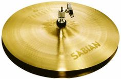 """Sabian 14 Inch VAULT PARAGON Hats by Sabian. $369.00. A medium-weight pairing for fast, crisp responses and clean, bright, well-defined sticking, SABIAN 14"""" Paragon Hi-Hats were designed for legendary RUSH drummer Neil Peart. Handcrafted from pure SABIAN B20 bronze, Paragon cymbals offer subtle looks and powerful, dynamic sounds. Created using AA-style hammering and an innovative mix of sound-defining features from the AA, AAX, and HH series, Paragon defines a ne..."""