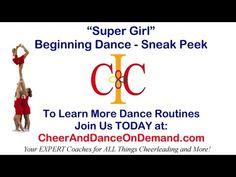 Fun Cheerleading Dance Routine