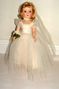 1950s MADAME ALEXANDER WENDY BRIDE DOLL