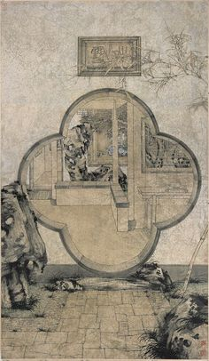 randian - Zheng Li: An Artist's Obsession with the Aesthetics of Brush and Ink Chinese Icon, Chinese Element, Chinese Art, Building Illustration, Illustration Art, Chinese Contemporary Art, Japanese Drawings, Chinese Architecture, Chinese Painting