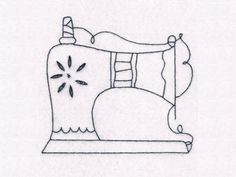 Fancy Sewing Redwork Machine Embroidery Designs