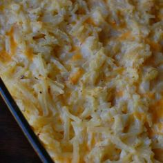 Cracker Barrel's Hashbrowns Casserole - Copycat I Always Use Cream Of Mushroom Soup.....love This Stuff