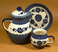 Teaset with Teapot, Cup and Saucer