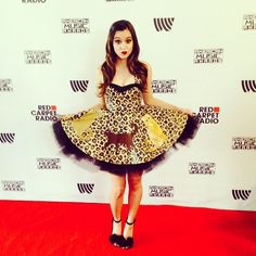 Megan Nicole at the 2014 AMA's!!