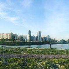 Район моего детства    #санктпетербург #россия #vecer #montag #ponedeli #понедельник #petrohrad #saintpetersburg #russland #rusko