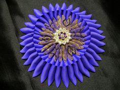 Gran cinta Cocarde Guerra Civil Púrpura cinta trabajo por MsPurdy