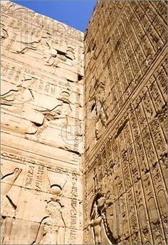 Temple of Horus, Edfu, Egypt.