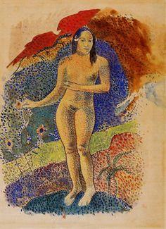 Paul Gauguin Tahitian Eve, 1892