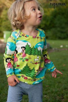 lillesol & pelle Ebook/ pattern: Shirt mit amerikanischem Ausschnitt