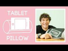 Man Sewing - Tablet Prop Up Pillow