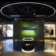 Nike+ House of Innovation at Selfridges.  Check Out Creative Freelance Services @                                                                                                                                             www.AdPT-Creative.co.uk