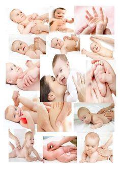 Baby massage steps....