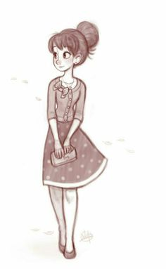 She looked off into the distance and gave a warm smile to what she saw ~ Just a little short I made