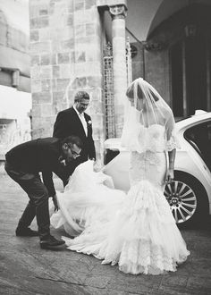 These Inbal Dror wedding dresses are absolutely stunning. Wedding Wishes, Wedding Bells, Bridal Gowns, Wedding Gowns, Blush Bridal, Lace Wedding, Perfect Wedding, Dream Wedding, Wedding Trends