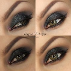 CLASSIC SMOKY EYES By Justyna K
