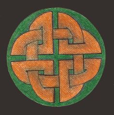 Mandala 006 by~Wildfire47-  celtic knot artwork.