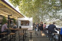 Arobory Bar & Eatery by Jackson Clements Burrows Pty Ltd Architects