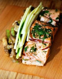 Cedar Wrapped Salmon Recipe   Chew Town Food Blog