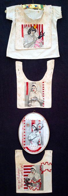 Embroidery by Karin van der Linden.