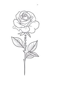 Rose Heart Tattoo, Simple Rose Tattoo, Rose Tattoos, Hand Tattoos, Small Tattoos, Tattoo Design Book, Sketch Tattoo Design, Name Tattoo Designs, Flower Tattoo Stencils