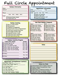 A quick way to keep info on your parties