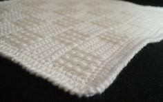 Basket Weave Crochet Blanket Pattern 20 week size (instructions to make it bigger or smaller)
